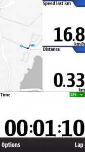 Speed last km
