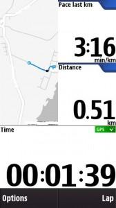 Pace last km
