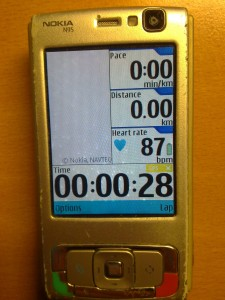 N95 and SportsTracker main screen 2